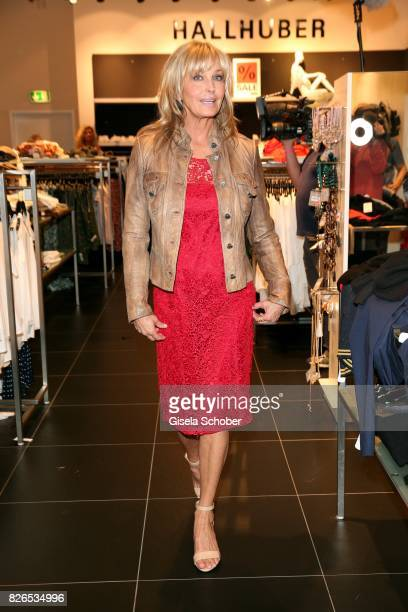 Bo Derek shops during the late night shopping at Designer Outlet Soltau on August 4 2017 in Soltau Germany