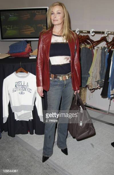 Bo Derek with Bella Dahl Clothing during VH1 Big in 2002 Awards Backstage Creations Talent Retreat Show Day at Grand Olympic Auditorium in Los...