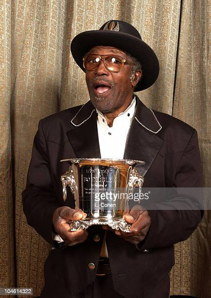 Bo Diddley during 2002 BMI Pop Awards at Regent Beverly Wilshire in Beverly Hills California United States