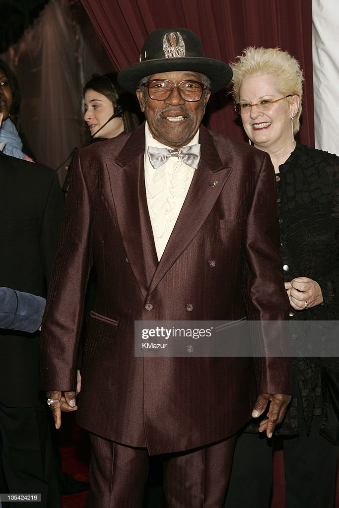 Bo Diddley during 20th Annual Rock and Roll Hall of Fame Induction Ceremony - Red Carpet at Waldorf Astoria in New York City, New York, United States.