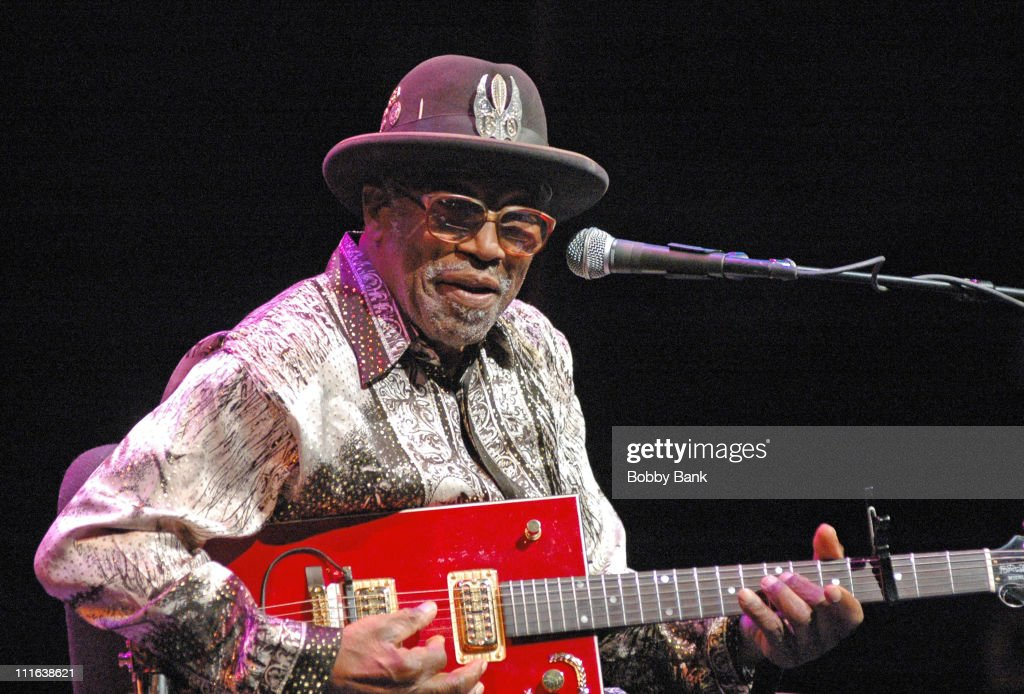 Bo Diddley during Bo Diddley & Friends in Concert at the McCarter Theatre - November 4, 2006 at McCarter Theatre in Princeton, New Jersey, United States.