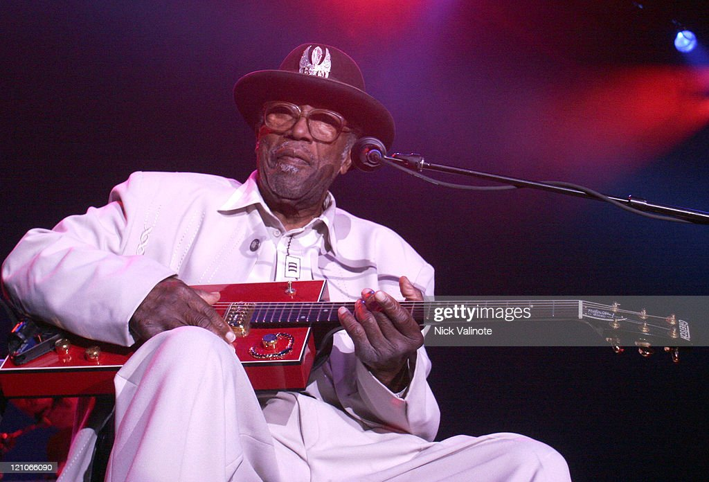 Bo Diddley during Bo Diddley Performs Live at the Borgata - August 4, 2006 at The Event Center at the Borgata in Altantic City, New Jersey, United States.