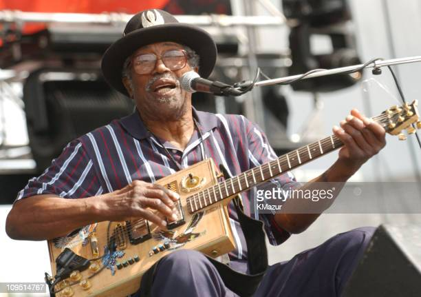 Bo Diddley during Crossroads Guitar Festival Day Three at Cotton Bowl Stadium in Dallas Texas United States