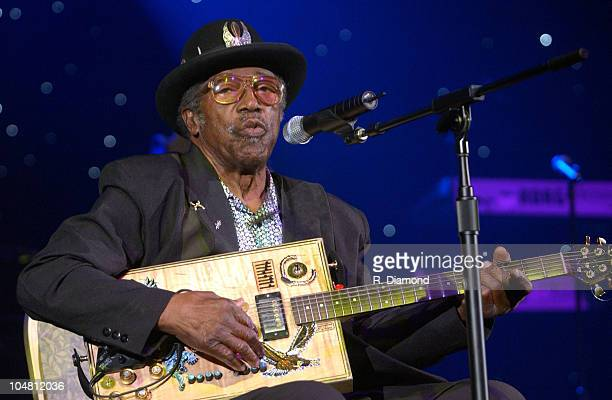 Bo Diddley during The Recording Academy presents The 2003 Atlanta Heroes Awards at Westin Peachtree Plaza in Atlanta Georgia United States