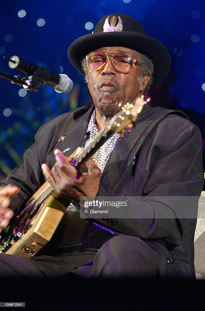 Bo Diddley during The Recording Academy presents The 2003 Atlanta Heroes Awards at Westin Peachtree Plaza in Atlanta, Georgia, United States.