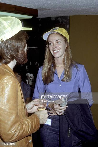 Bo Donaldson and Anne Lockhart during Celebrities at the 1977 Special Olympics at UCLA Campus in Los Angeles California United States