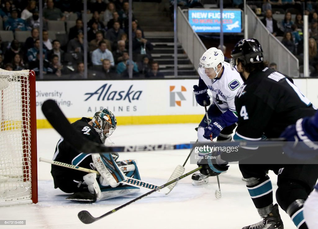 Vancouver Canucks v San Jose Sharks