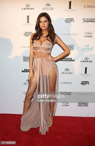 Bo Krsmanovic attends Sports Illustrated Swimsuit 2016 Swim BBQ VIP at 1 Hotel Homes South Beach on February 17 2016 in Miami Beach Florida