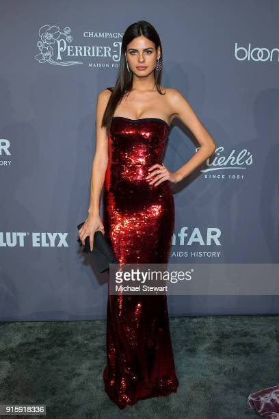 Bo Krsmanovic attends the 2018 amfAR Gala New York at Cipriani Wall Street on February 7 2018 in New York City