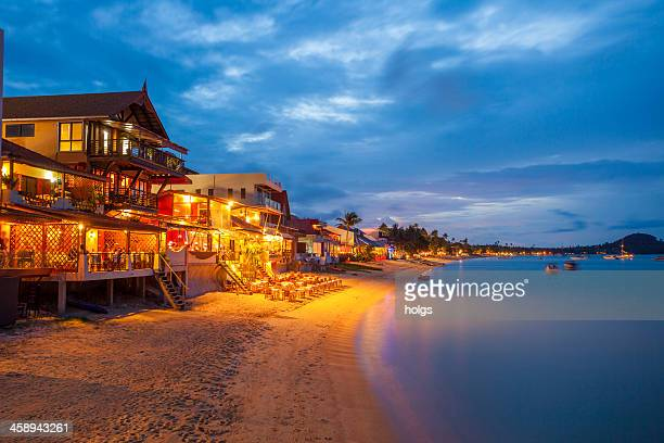 bo phut beach koh samui, thailand - ko samui stock photos and pictures