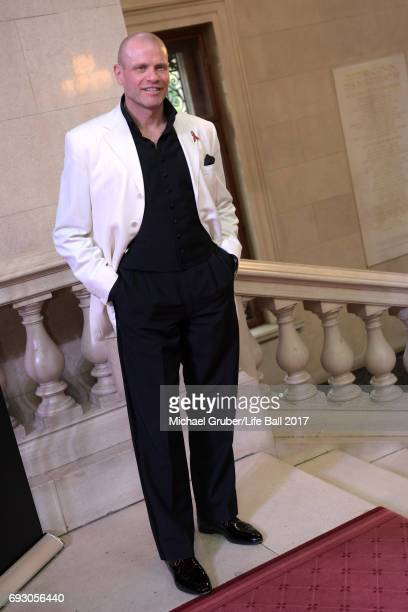 Bo Skovhus attends the Life Celebration Concert at Burgtheater on June 6 2017 in Vienna Austria The concert marks the opening of the Life Ball week...