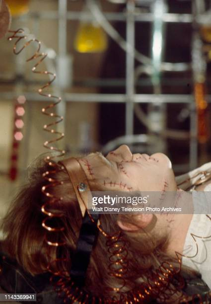 Bo Svenson as the Frankenstein Monster, appearing in the Walt Disney Television via Getty Images tv series 'The Wide World of Mystery' episode...
