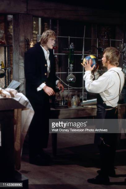 Bo Svenson as the Frankenstein Monster John Karlen appearing in the Walt Disney Television via Getty Images tv series 'The Wide World of Mystery'...