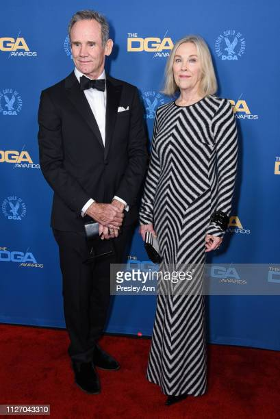 Bo Welch and Catherine O'Hara attend 71st Annual Directors Guild Of America Awards at The Ray Dolby Ballroom at Hollywood Highland Center on February...