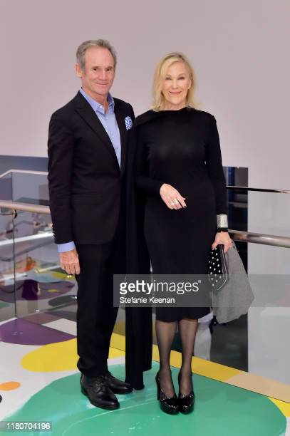Bo Welch and Catherine O'Hara attend Hammer Museum's 17th Annual Gala In The Garden on October 12 2019 in Los Angeles California