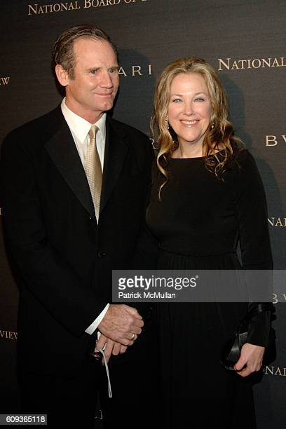 Bo Welch and Catherine O'Hara attend The 2006 National Board of Review of Motion Pictures Awards Gala Presented by BVLGARI at Cipriani 42nd Street on...