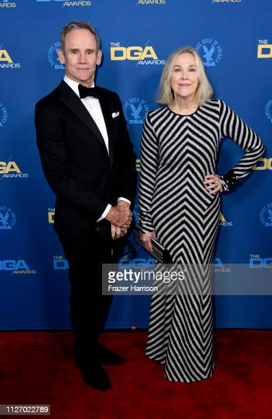 Bo Welch and Catherine O'Hara attend the 71st Annual Directors Guild Of America Awards at The Ray Dolby Ballroom at Hollywood Highland Center on...