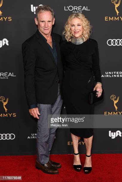 Bo Welch and Catherine O'Hara attend the Television Academy honors Emmy nominated performers at Wallis Annenberg Center for the Performing Arts on...