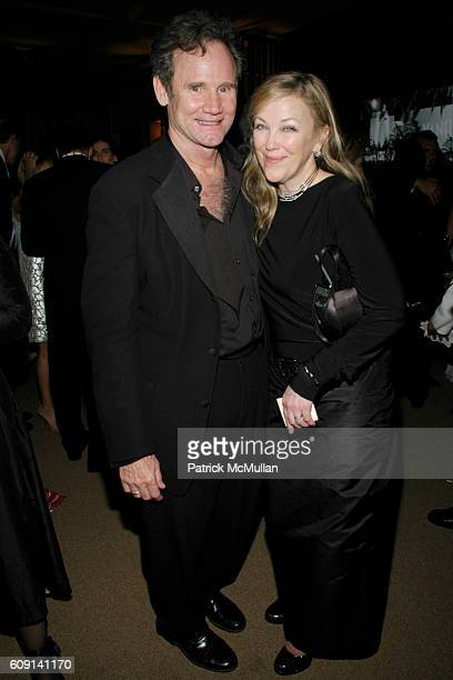 Bo Welch and Catherine O'Hara attend VANITY FAIR Oscar Party at Morton's on February 25 2007 in Los Angeles CA