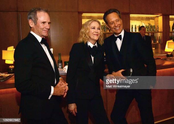 Bo Welch Catherine O'Hara and Richard E Grant attend The Hollywood Reporter's 7th Annual Nominees Night presented by MercedesBenz Century Plaza...