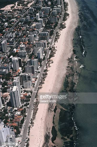 Boa Viagem beach in Recife Brazil