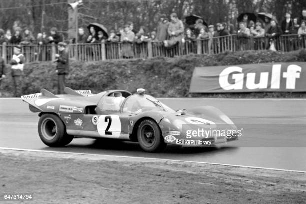 1970 boac 1000 Brands Hatch Chris Amon/Arturo Merzario in Ferrari 512s 2