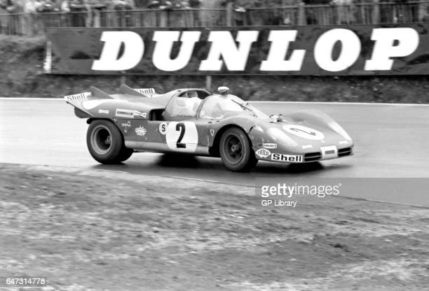 1970 boac 1000 Brands Hatch Chris Amon/Arturo Merzario in Ferrari 512s 3