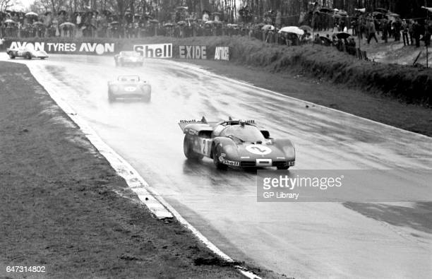 1971 boac 1000 Brands Hatch Chris Amon/Arturo Merzario in Ferrari 512s