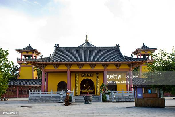 boao temple,hainan - boao economic forum stock pictures, royalty-free photos & images