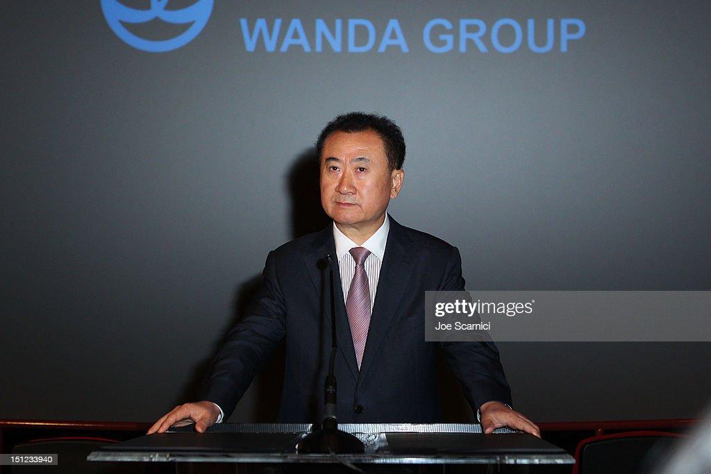 Wanda AMC Press Conference : News Photo