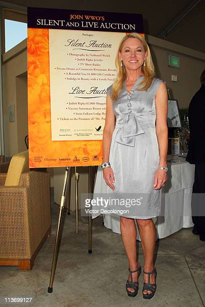 Board Chairwoman of the Worldwide Orphans Foundation attends the Worldwide Orphans Foundation 6th California Benefit Reception at the L'Ermitage...