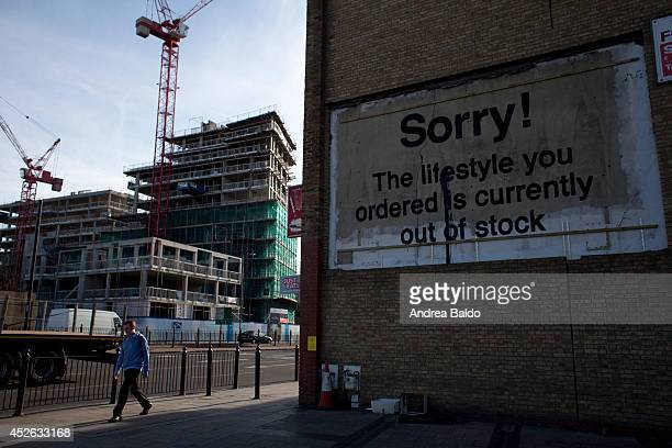 A board in East India East London claims Sorry The lifestyle you ordered is currently out of stock
