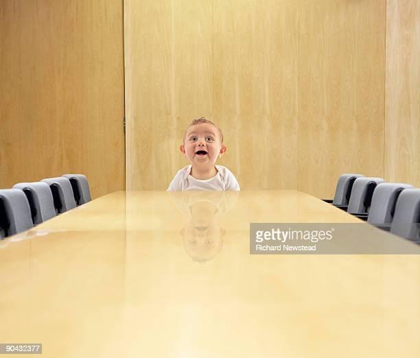 Board Meeting Baby