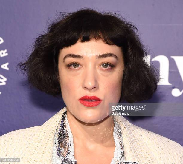 Board Member actress Mia Moretti attends the Housing Works' Groundbreaker Awards at Metropolitan Pavilion on April 25 2018 in New York City