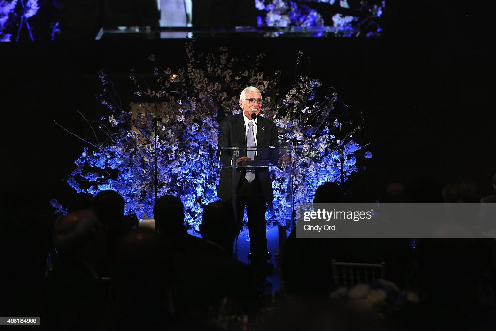 Board Member and Executive Committee Member of Autism Speaks, Mel Karmazin attends the Autism Speaks Tip-off For A Cure 2015 on March 30, 2015 in New York City.