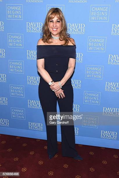 Board Member David Lynch Foundation Joanna Plafsky attends 'An Amazing Night of Comedy A David Lynch Foundation Benefit for Veterans with PTSD' on...