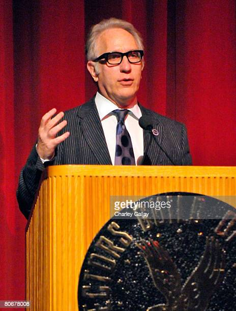 Board Member Howard A. Rodman speaks onstage during the 12th annual City of Lights, City of Angels French Film Festival held at the Directors Guild...