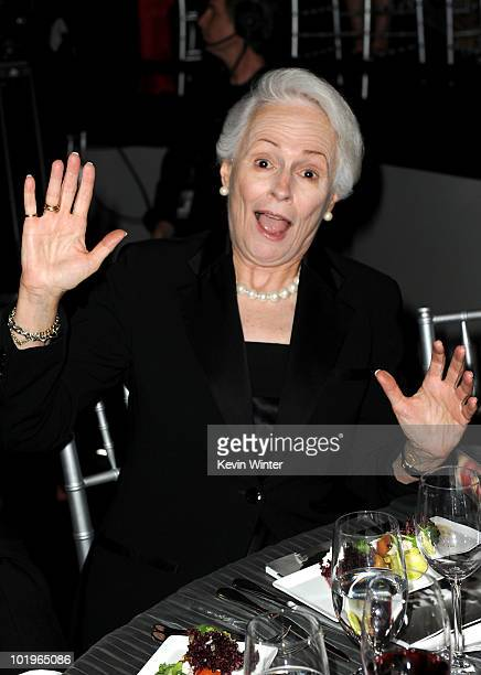 Board Member Jean Picker Firstenberg poses in the audience during the 38th AFI Life Achievement Award honoring Mike Nichols held at Sony Pictures...