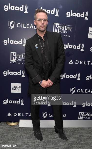 Board Member Justin Tranter attends the 29th Annual GLAAD Media Awards at The Hilton Midtown on May 5 2018 in New York City