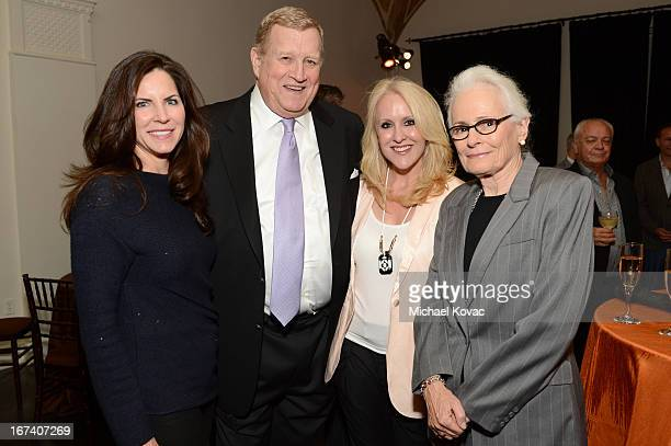 AFI board member Lisa Arpey actor Ken Howard Jenny Wolf and AFI Board Member Jean Picker Firstenberg attend the after party for Target Presents AFI's...