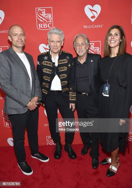 Board Member Michael McDonald Honoree Adam Clayton of U2 President/CEO of The Recording Academy and MusicCares Neil Portnow and Board Member...