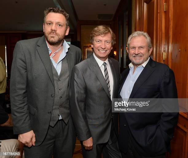 Board Member Phil Ashcroft, producer Nigel Lythgoe and BAFTA LA Chairman Gary Dartnall attend BAFTA LA at Digital Hollywood Los Angeles at Ritz...