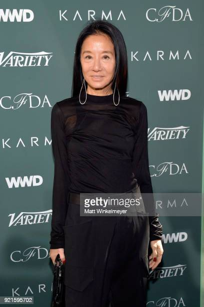 Board member/host Vera Wang attends the Runway To Red Carpet hosted by Council of Fashion Designers of America Variety and WWD at Chateau Marmont on...