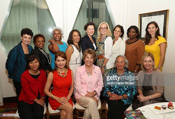 Board members attend the Annual Luncheon for the New York Women's Foundation hosted by Jean Shafiroff at Le Cirque on September 8 2014 in New York...