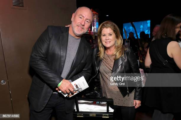 Board Members Jeff Westphal and Jenifer Westphal attend the Little Kids Rock Benefit 2017 at PlayStation Theater on October 18 2017 in New York City