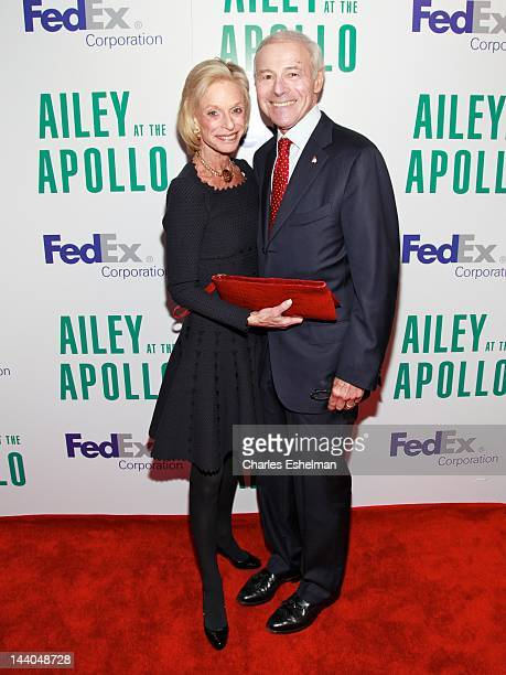 Board members Linda Lindenbaum and Sandy Lindenbaum attend the 10th annual Ailey at the Apollo at The Apollo Theater on May 8 2012 in New York City
