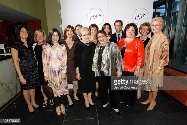 Board members Wendy Wetchler, Annie Gilbert, Rory Teitelbaum, Ivy Duneier, Dr. Andrew Lipschitz, Dr. Krim, Lois Nipon, Eileen Mitzman, Roberta Bogen,...