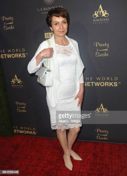 Board of Directors Agnes Sahakyan of The World Networks arrives for The World Networks Presents Launch Of The Goddess Empowered held at Brandview...