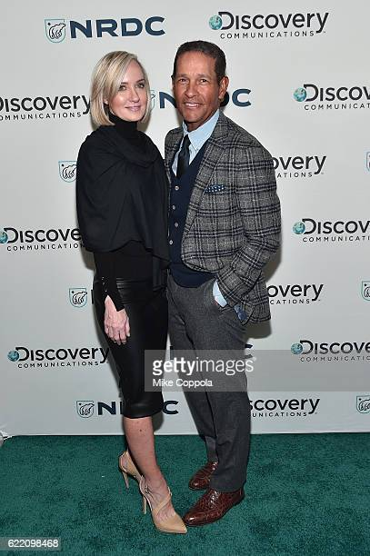 Board of Directors at USF for UNICEF Hilary Gumbel and Journalist Bryant Gumbel attend the Natural Resources Defense Council's NRDC's Night of Comedy...