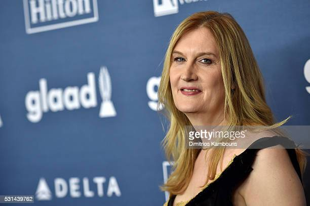 Board of Directors member Jenny Boylan attends the 27th Annual GLAAD Media Awards in New York on May 14 2016 in New York City